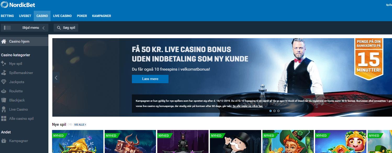 Nordicbets Online Casino